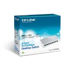SWITCH TP-LINK TL-SF1008D 8 PUERTOS 10/100 ESCRITORIO