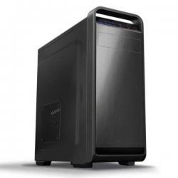 GABINETE KMEX CM04AC 450W BAHIA 1X5.25 2X3.5 3X2.5 USB 1X 3.0 2X1.1