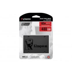 UNIDAD DE ESTADO SOLIDO SSD KINGSTON 480GB A400 2.5 SATA3 7MM LECT 500/ESCR 450MBS