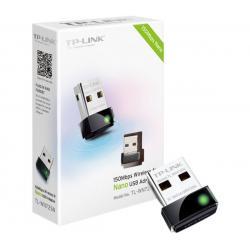 ADAPTADOR DE RED USB TP-LINK TL-WN725N NANO INALAMBRICA N 150MBPS
