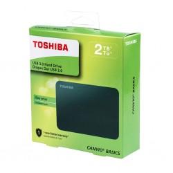DISCO DURO EXTERNO TOSHIBA CANVIO HDTB420XK3AA 2TB 2.5