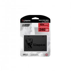 UNIDAD DE ESTADO SOLIDO SSD 240GB KINGSTON 2.5 SATA A400 (SA400S37/240G)