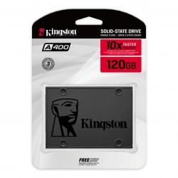 ESTADO SOLIDO SSD KINGSTON A400 120GB 2.5 SATA3 7MM (SA400S37/120G)