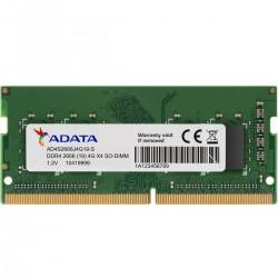 MEMORIA RAM SODIMM ADATA DDR4 4GB 2666MHZ CL19 260PIN 1.2V LAPTOP (AD4S2666J4G19-S)