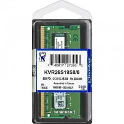 MEMORIA RAM DDR4 KINGSTON DDR4 SODIMM 8GB 2666MHZ VALUE RAM KVR26S19S6/8